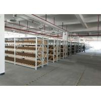 China Cold Rolled Steel Light Duty Racking System With Metal Plate Adjustable Height on sale