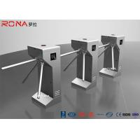 China 304 Stainless Steel Tripod Turnstile Gate Access Control System 30 Pearsons / Min on sale