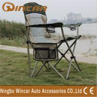 Portable Folding Outdoor Camping Chairs With Cup Holder for family Manufactures