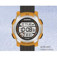 China Waterproof Quartz Digital Radio Controlled Watches For Men on sale