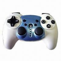 Wireless Game Pad/Controller with Dual Vibration Shock Feedback and 12 Analog Buttons Manufactures