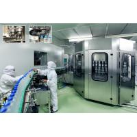 Water Filling Machines , Rinsing Filling Capping 3-in-1 Monoblock