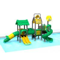 Customization Kids Outdoor Playground Equipment Water Park Slide TQ - ZR1282 Manufactures