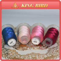 High Performance 100% Polyester Embroidery Sewing Thread Dyed Manufactures