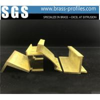 Expert Shining Golden Windows And Doors Copper Alloy Profiles Manufactures