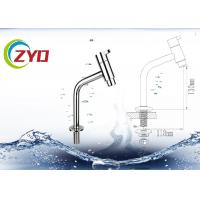 Excellent Single Hole Bathroom Faucet , Water Efficient Sink Water Faucet Manufactures