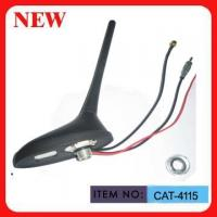Professional Car GPS Antenna With 3M RG174 Cable Vertical Polarization Twist Shape Manufactures
