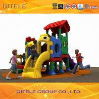 Quality HDPE Plastic Children Playground Equipment Small For Kids center for sale