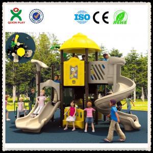 China Manufacturer Playground Slide Used Kids Outdoor Playground Slide For Sale QX-008C Manufactures