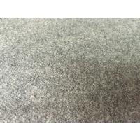 Supreme Breathable Flannel Wool Fabric For Scarves / Overcoats Roll Dyed Manufactures