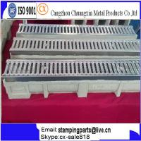 rain gutter for car trench drain U shape trench drainage Manufactures