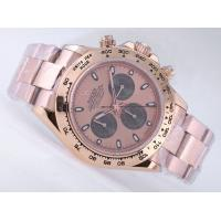 Rolex Daytona Chronograph Asia Valjoux 7750 Movement Full Rose Gold Wholesale cheap rolex Manufactures