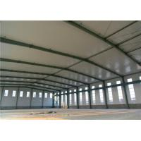 Clean Span Portal Frame Steel Structure Warehouse / Lightweight Steel Structures Manufactures