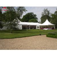 Quality Permanent Outdoor Wedding Party Tent High Reinforced Aluminum 6061/T6 Frame Material for sale