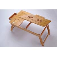 Buy cheap green bamboo computer table/laptop desk from wholesalers
