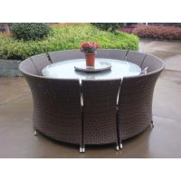 Outdoor Rattan Garden Dining Sets , All Weather Waterproof Sofa Manufactures