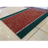 Impact Resistant Recycled Rubber Crumb Multicolors Anti - Slip Jogging Flooring Manufactures