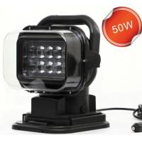 360 Degree Remote Control Led Search Light Marine Led Truck Work Lights 50w LED search Driving Light
