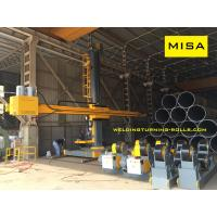 5050 Welding Column Boom Travel On Rail With Recovery System Welding System Manufactures