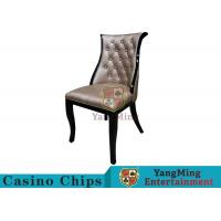 New Design Korean Style Casino Gaming Chairs High - Density With Oak Frame Manufactures