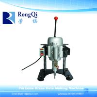 Buy cheap Portable Manual Mini Glass Drilling Machine for Glass Processing Machinery from wholesalers