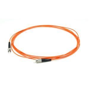 China Mutilmode Simplex Fiber Optic Patch Cord FC ST , 0.9mm / 2.0mm / 3.0mm Diameter on sale