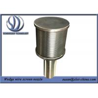 Buy cheap BSP End Fitting Wedge Wire Screen Filter Nozzle from wholesalers