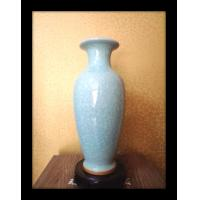 China Chinese traditional Jun porcelain guanyin vase / bottle on sale