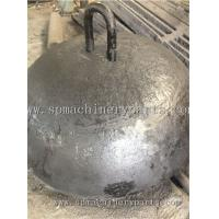 China Foundry Direct Marine Parts Iron Cast 3000kg Dead Weight Moorings With Lift eye Manufactures