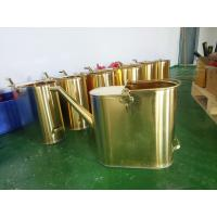 non sparking brass material copper 20L  capacity refueling bucket Manufactures