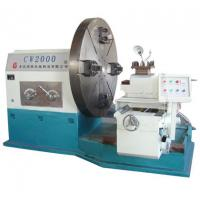 China Low Price Big Swing Dia Diameter: 2000mm Flange Turning Lathe Manual Conventional Heavy Duty Facing Lathe Machine Manufactures