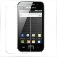 Anti - glare Anti - scratch self - adhesive cell phone screen protector / protection for samsung Manufactures