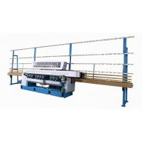 China PLC Control Tempered glass double edging machine with high performance on sale