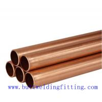 China Air Conditioning C71500 C70600 Copper Nickel Tube , Thickness1-60mm on sale
