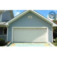 Tilt Up Lifting Overhead Garage Doors Steel Sheet With Single Track Manufactures