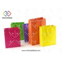 Luxury Gift Custom Paper Bag Cotton Handle With Your Own Brand Logo Manufactures