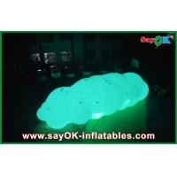 China 0.18mm PVC Inflatable Helium Cloud Balloon Float In the Air With LED Light on sale
