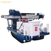 High Efficiency Full Hydraulic Skid Mounted Drilling Rig Depth 50 - 60 m Manufactures