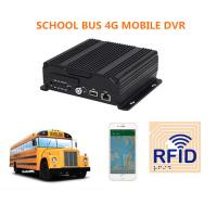Anti - viabration 4CH 720P SD Card Car AHD Mobile DVR For School Bus Manufactures