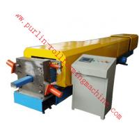 Automatic Water Drainage Pipe Roll Forming Machine / Metal Eaves Gutter Equipment Manufactures