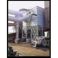 Cement Plant Pulse Jet Fabric Filter / Industrial Bag House Filter Dust Collector Manufactures