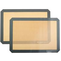 FBT010602 for wholesales pack of 2 oven baking non-stick silicone mat Manufactures
