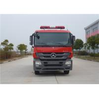 Max Power 265KW Commercial Fire Trucks Total Side Girder Structure 6500kg Water Tank Manufactures
