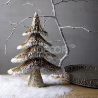 China Glitter Artificial Christmas Tabletop Decoration Tree on sale