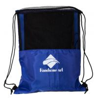 Cheap Promotional Mesh Polyester Football Drawstring Bag-HAD14018 Manufactures