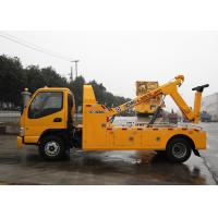 Durable Hydraulic 6000kg Wrecker Tow Truck , Highway / City Road Occasion Breakdown Recovery Truck Manufactures