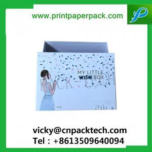 China Rigid Set Up Garment Underwear Packaging Boxes Cosmetic Cardboard Box High Quality Black Cardboard Jewelry Box on sale
