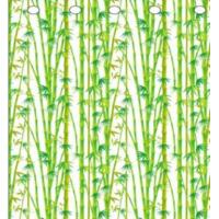 Polyester Bamboo Shower Curtain Manufactures