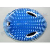 Buckle Quick Release Bike And Skate Kids Skate Helmets 5 Air Vents Blue Pink White Manufactures