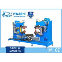 Dual Circular Rolling Seam Welding Machine Alusil Fuel Tank Cap Application Manufactures
